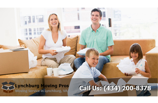 Residential Movers West Lynchburg Virginia